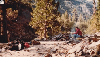 Solo hike Mokelumne Wilderness 1984