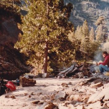 Solo hike Mokelumne Wilderness 1984