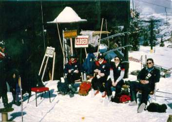 Bear Valley Ski Patrol '80s