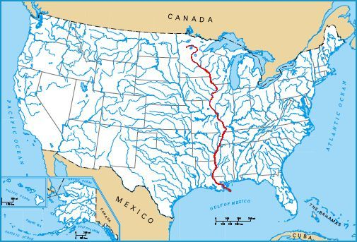 Yukon River Woman Great Rivers - Us river flow direction map